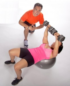Kelley and Ken - Pressing on Stability Ball.TIF